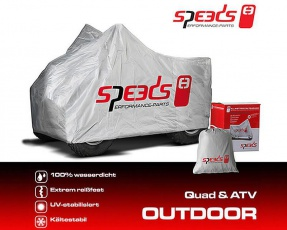 Plachta 226x127x120cm na  ATV Quad XXL Speeds
