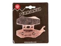 Brzdové obloženie Naraku Sinter pre Aprilia, Gilera, MBK, Yamaha