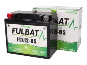 Akumulátor YTX12-BS GEL Fulbat