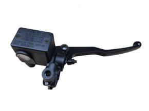 Brzdová pumpa pravá MZ ETZ čierna M10 zrkadlo