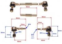 Čapy riadenie s tyčou pre ATV125 17cm až 20,5cm