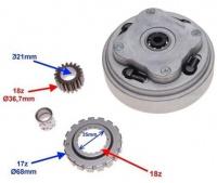 Spojka manuálna pre motory 110/125ccm