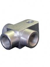 Rozdelovač brzdovej kvapaliny 3-cestný M10x1.0