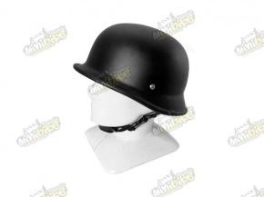Prilba nemecká armáda čierna matná