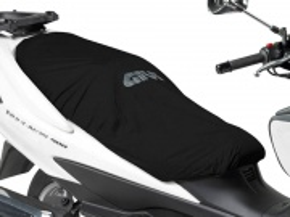 Poťah sedadla odnímateľný, vodeodolný - čierny