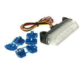 Zadné svetlo LED číra univerzal E homogizáciou 78x16mm