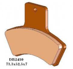 Brzdové obloženie DB2410QDN KH270 Quadzilla