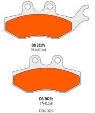Brzdové obloženie Delta Braking DB2029SR pre Rieju RS-2 50 AM6