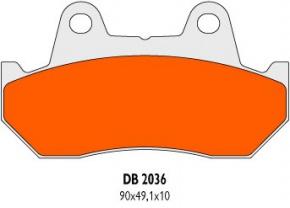 Brzdové obloženie DB2036RDN pre Honda Helix CN 250 Fusion Spazio