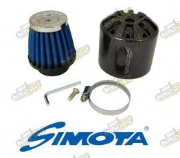 Vzduchový filter Simota 38mm karbónový kryt