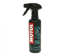 Čistiaci prostriedok MOTUL E1 Wash&Wax 400ml