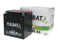 Akumulátor Fulbat YiX30L-BS MF bezúdržbový ytx30