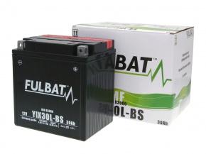 Akumulátor YiX30L-BS MF bezúdržbový YTX30 Fulbat