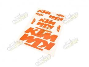 Nálepky KTM 35x25cm