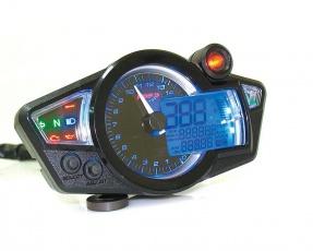 Digitálny tachometer / prístrojovka KOSO [RX1N] Black/Blue