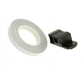 Páska lepiaca na disk 7mm (600cm) strieborná reflexná