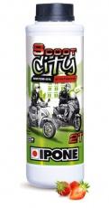 Olej IPONE Scoot City 2T jahodová vôňa JASO M 345 FD