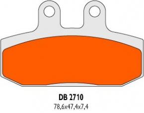 Brzdové obloženie DB2710SRN pre Honda Bali 50 SJ50 AF32