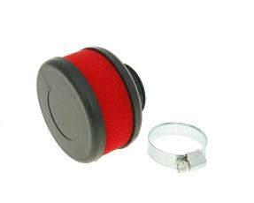 Vzduchový filter molitan 28mm/35mm červený plochý