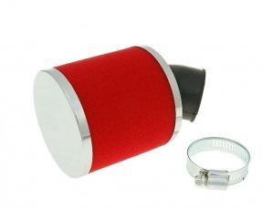 Vzduchový filter molitan červený 28mm/35mm 45°