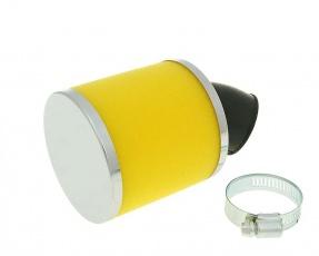 Vzduchový filter molitan žltý 28mm/35mm 45°