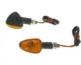 Smerovky M10 set [Doozy] - oranžové sklo - krátke