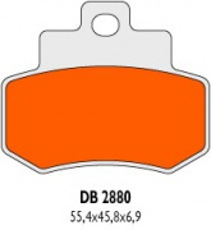 Brzdové obloženie Delta Braking Sinter DB2880RDN
