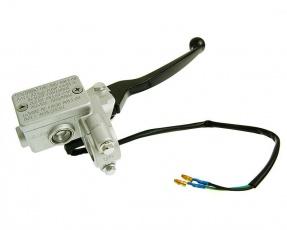 Brzdová pumpa predná pre skútre GY6 125/150cc strieborná
