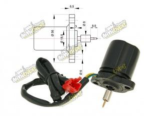 Elektrický sytič pre 2-taktné karburátory CPI, Keeway a iné