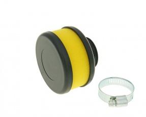 Vzduchový filter Flat Foam 28/35mm - žltý