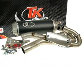 Výfuk TurboKit Quad/ATV - Yamaha YFM 660R Raptor 2 v 1