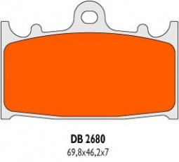 Brzdové obloženie DB2680RDN