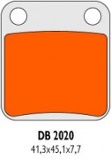 Brzdové obloženie DB2020RDN