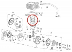 Piestne krúžky 75mm SMC Jumbo 300