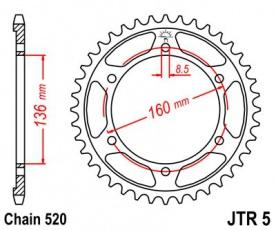 Rozeta 41z pre Aprilia ETX Tuareg 85-87