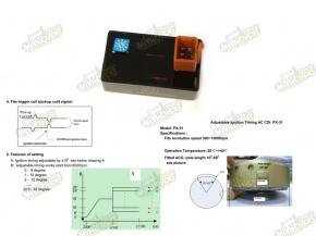 CDI zapaľovanie ľaditelné AC PX31