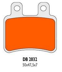 Brzdové obloženie Delta Braking Sinter DB2032RDN
