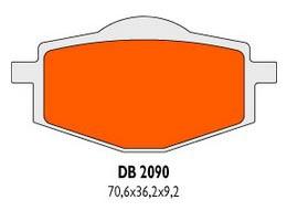 Brzdové obloženie DB2090RDN