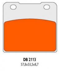 Brzdové obloženie DB2113RDN
