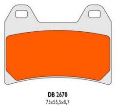 Brzdové obloženie DB2670RDN