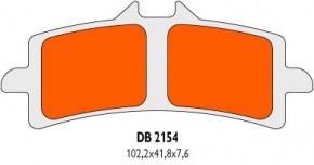 Brzdové obloženie Delta Braking DB2154RDN