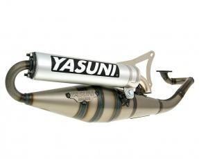 Výfuk Yasuni Scooter Z Aluminium pre Minarelli ležatý