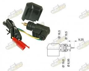 Elektrický sytič pre karburátory Dellorto a činske skútre GY6