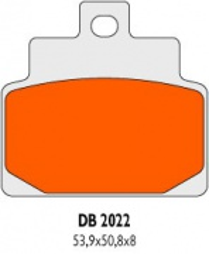 Brzdové obloženie Delta Braking Sinter DB2022RDN