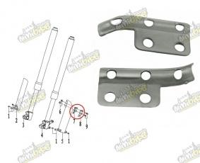 Držiak brzdovej hadice PisterPro LXR12-14 53434-X5-100-D1