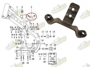 Držiak nádrže pre PisterPro LXR12-14 17524-X5-100-D2