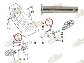 Čap stupačky zaisťovací pre PisterPro LXR12-14