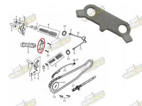 Držiak vačky a tyčky vahadiel pre ZS W150 15108-JE15-0000