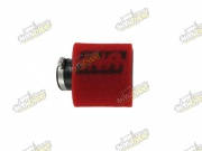 Vzduchový filter 32mm 15° uhol  UP4125AST UNI