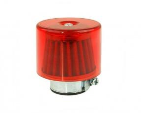 Vzduchový filter 35-38mm s krytom priamy červený